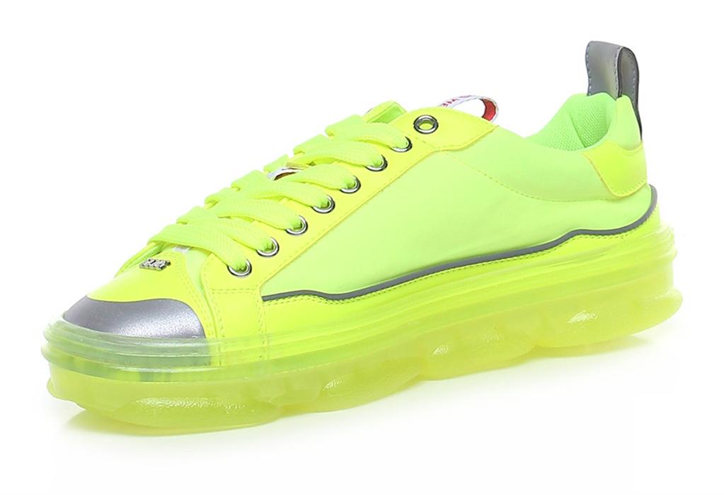 GCDS - Scarpe - Sneakers - sneakers hydra low top giallo fluo 2