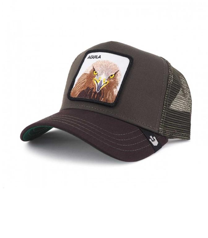 Goorin Bros - Cappelli - cappellino trucker aguila olive