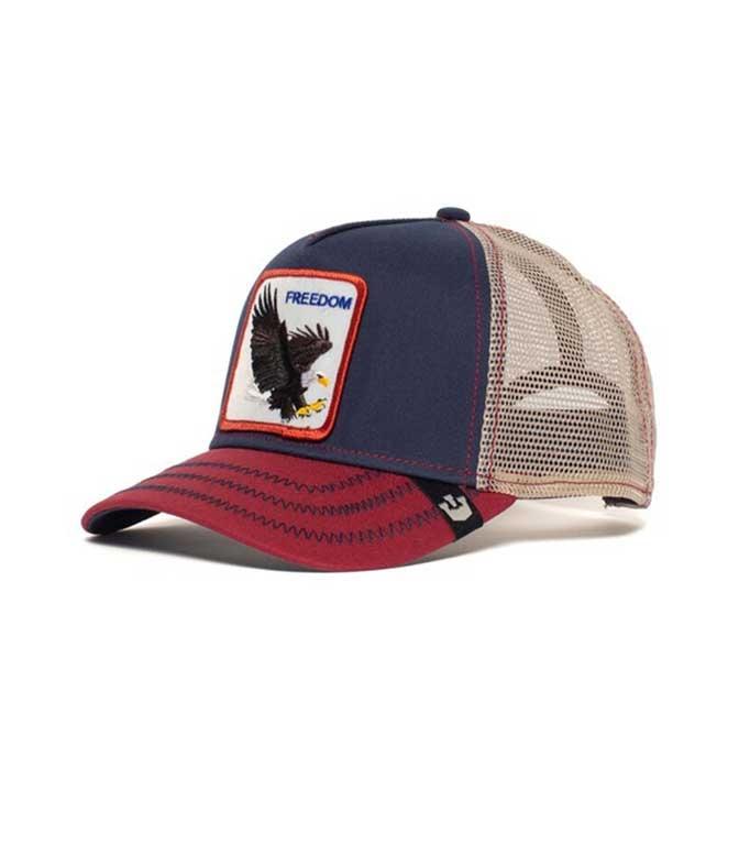 Goorin Bros - Cappelli - cappellino trucker freedom navy