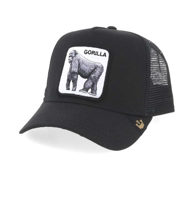 Goorin Bros - Cappelli - cappellino trucker gorilla black