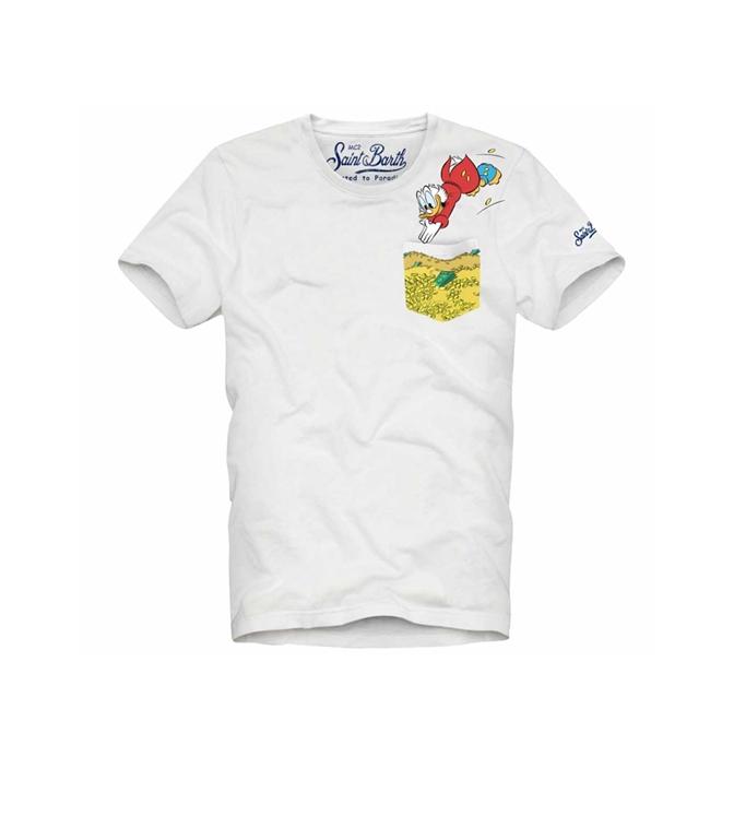 Mc2 Saint Barth - T-Shirt - T-SHIRT AUSTIN PAPERON DE PAPERONI