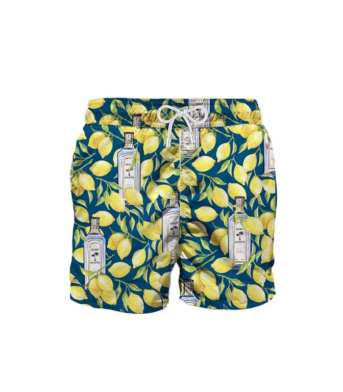 Mc2 Saint Barth - T-Shirt - costume mare gin lemon