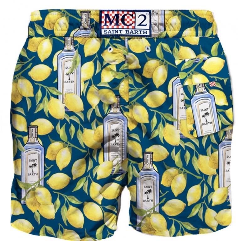 Mc2 Saint Barth - T-Shirt - costume mare gin lemon 1