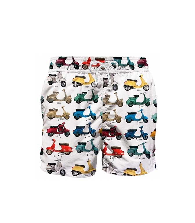 Mc2 Saint Barth - T-Shirt - COSTUME MARE VESPA® STORY