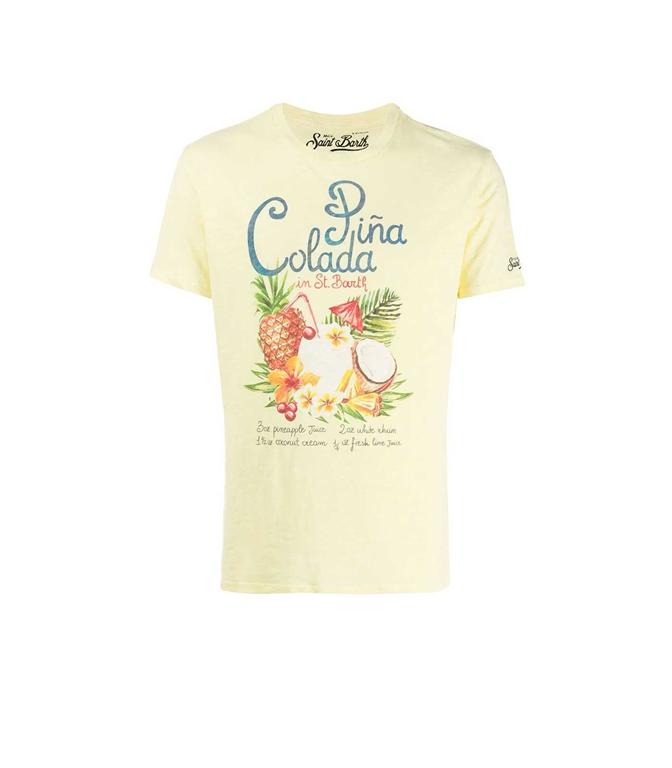 Mc2 Saint Barth - T-Shirt - T-SHIRT SKYLAR PINA COLADA
