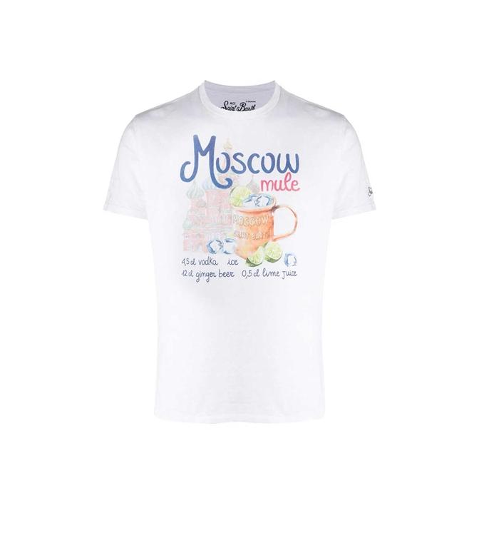 Mc2 Saint Barth - T-Shirt - T-SHIRT SKYLAR MOSCOW MULE