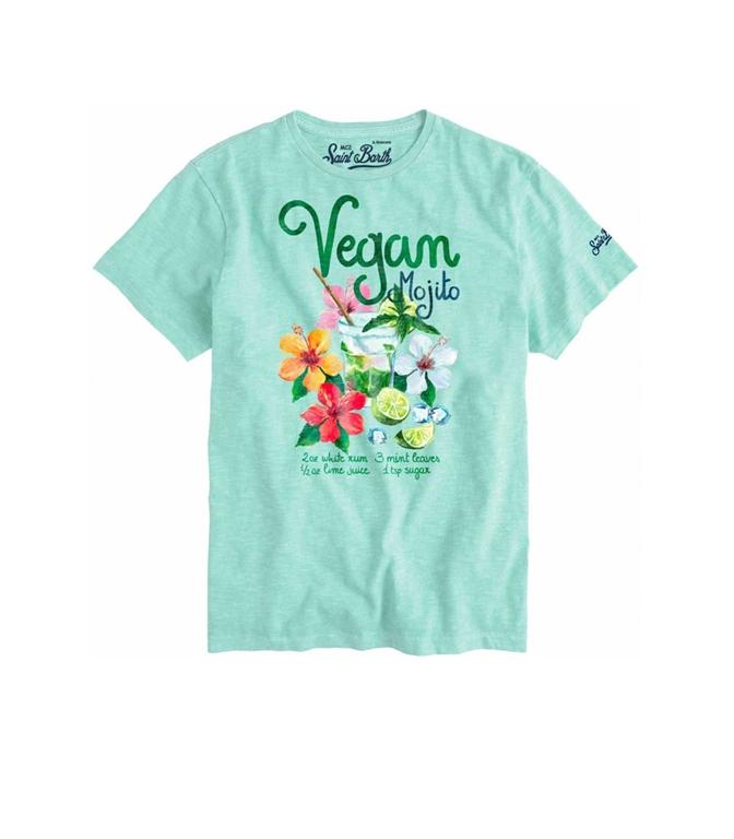 Mc2 Saint Barth - T-Shirt - T-SHIRT VEGAN MOJITO