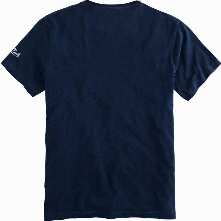 Mc2 Saint Barth - T-Shirt - t-shirt stampa vespa® in capri 1
