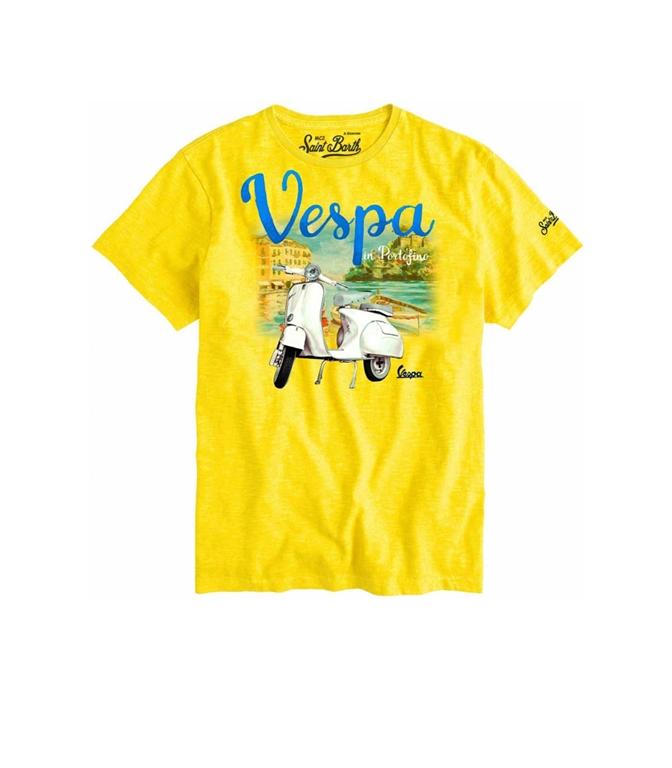 Mc2 Saint Barth - T-Shirt - T-SHIRT VESPA® IN PORTOFINO