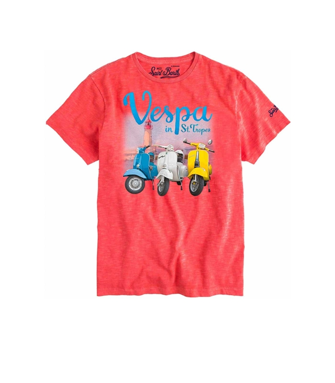 Mc2 Saint Barth - T-Shirt - T-SHIRT VESPA® SAINT TROPEZ