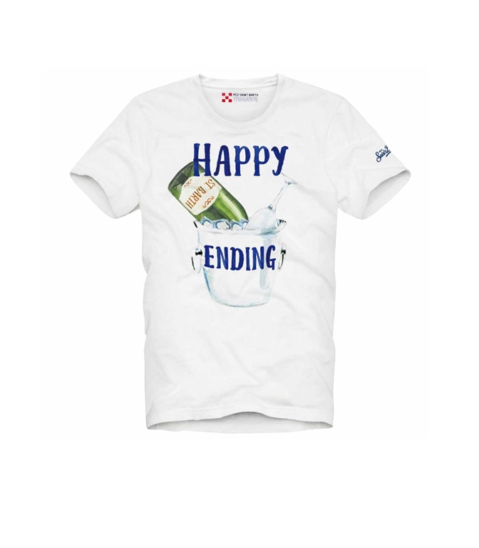Mc2 Saint Barth - T-Shirt - T-SHIRT HAPPY ENDING