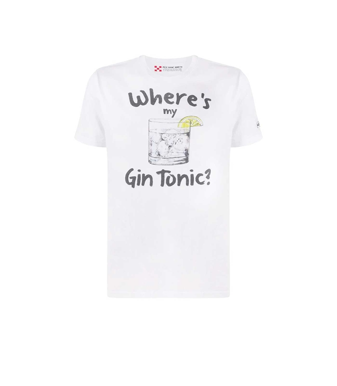 Mc2 Saint Barth - T-Shirt - T-SHIRT GIN TONIC