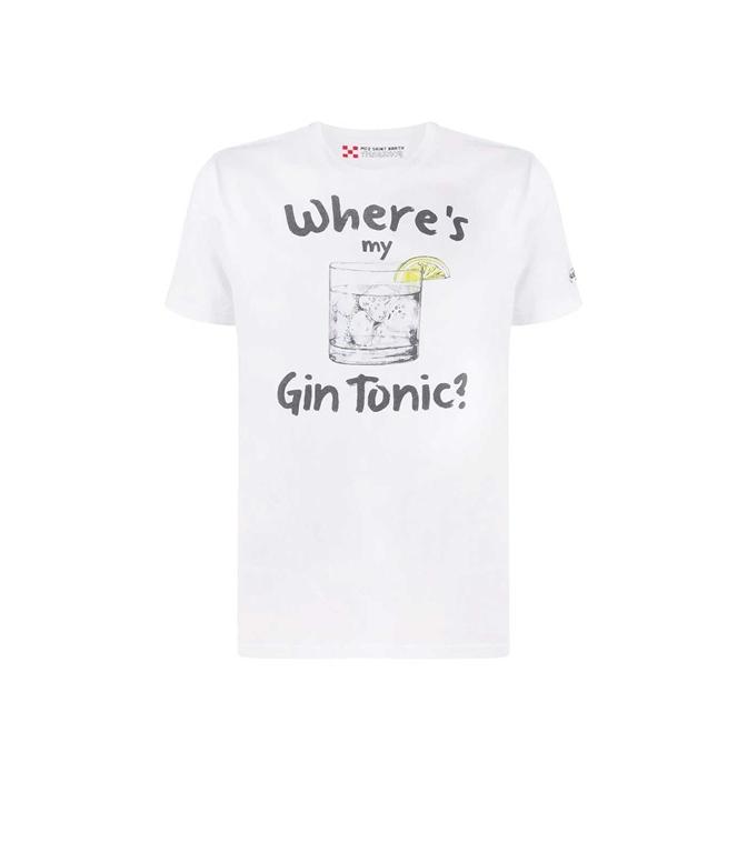 Mc2 Saint Barth - T-Shirt - T-SHIRT GIN TONIC