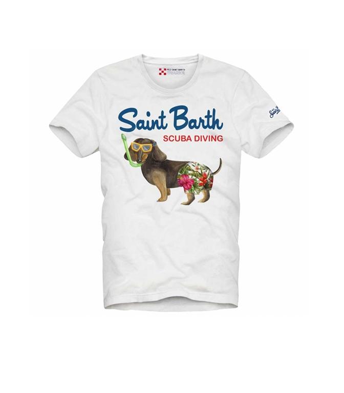 Mc2 Saint Barth - T-Shirt - T-SHIRT SCUBA DOG