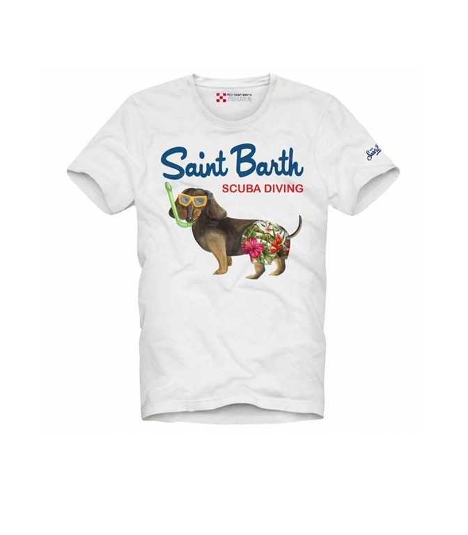 Mc2 Saint Barth - T-Shirt - T-SHIRT SCUBA DOG