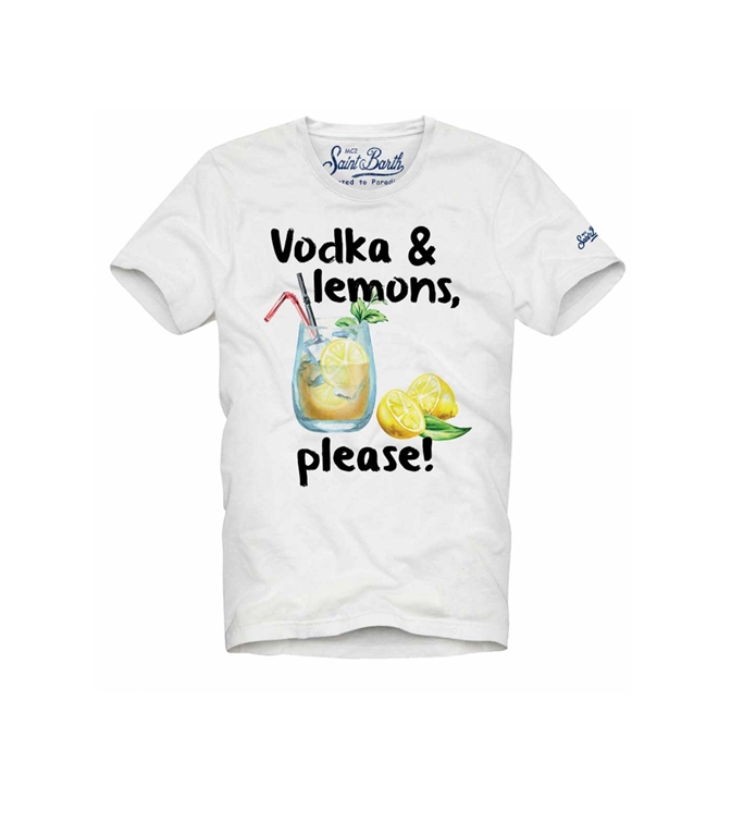 Mc2 Saint Barth - T-Shirt - T-SHIRT VODKA & LEMONS, PLEASE!