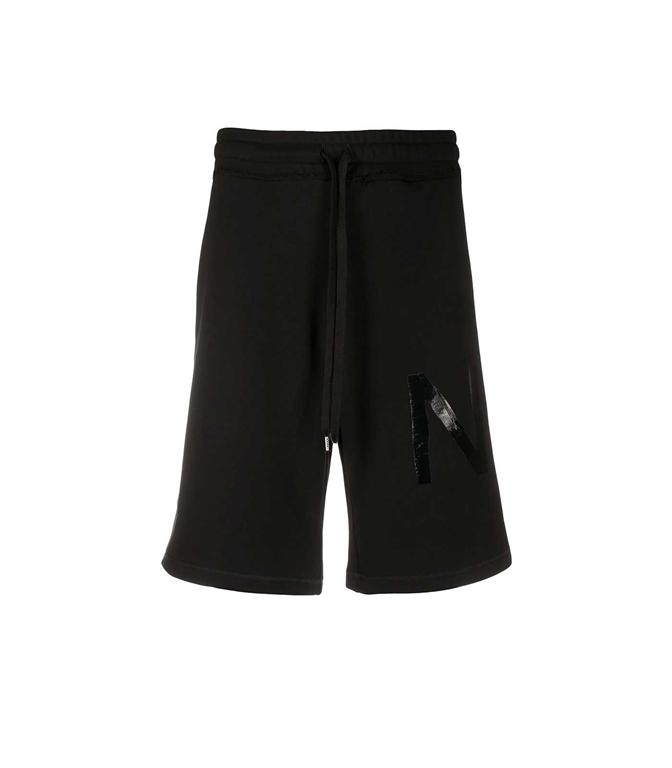 N°21 - Bermuda - shorts running con stampa