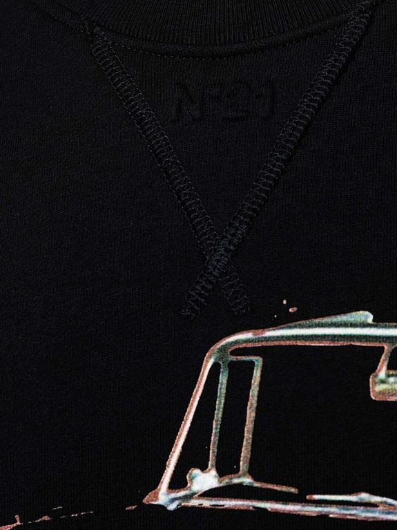 N°21 - Felpe - felpa con stampa nera 2