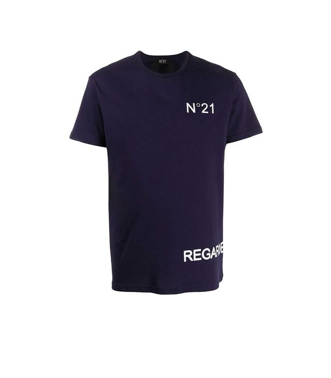 N°21 - T-Shirt - T-SHIRT REGARDE BLUETTE