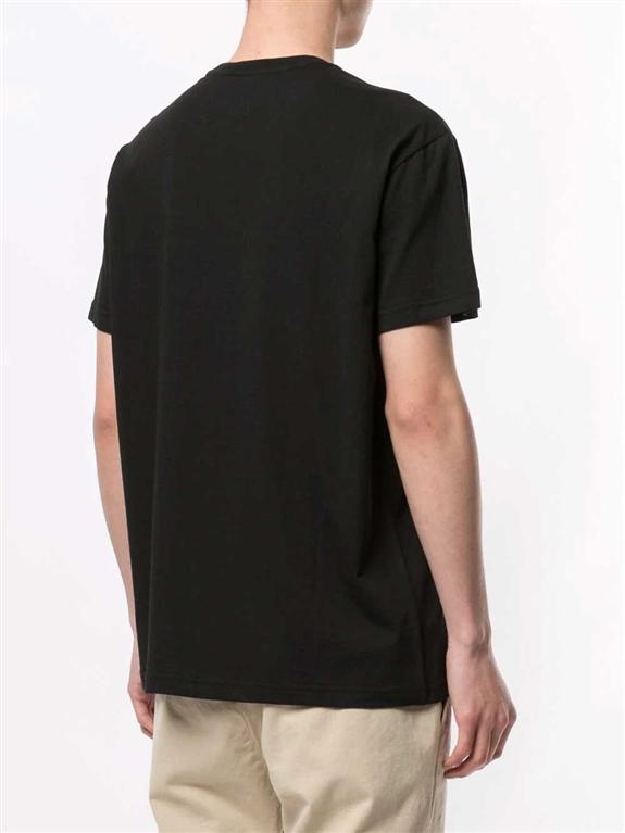 N°21 - T-Shirt - t-shirt regarde con stampa nera 1
