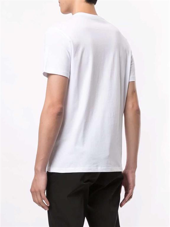 N°21 - T-Shirt - t-shirt fragile con stampa bianca 1