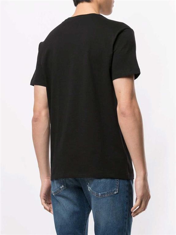 N°21 - T-Shirt - t-shirt fragile con stampa nera 1