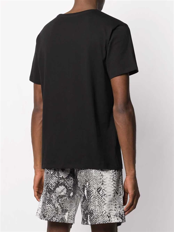 N°21 - T-Shirt - t-shirt con stampa nera 1