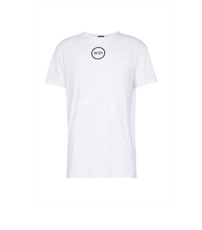 N°21 - T-Shirt - t-shirt bianca