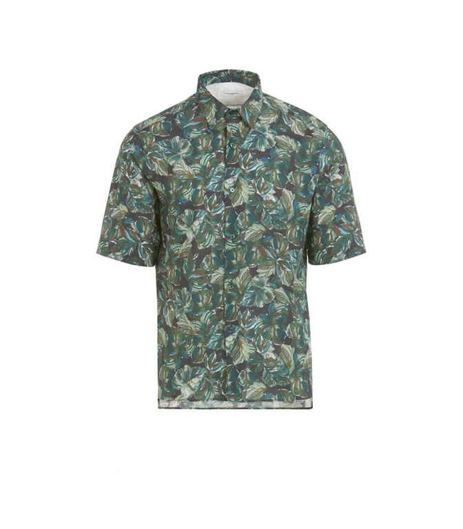 Paolo Pecora - Camicie - camicia con stampa floreale