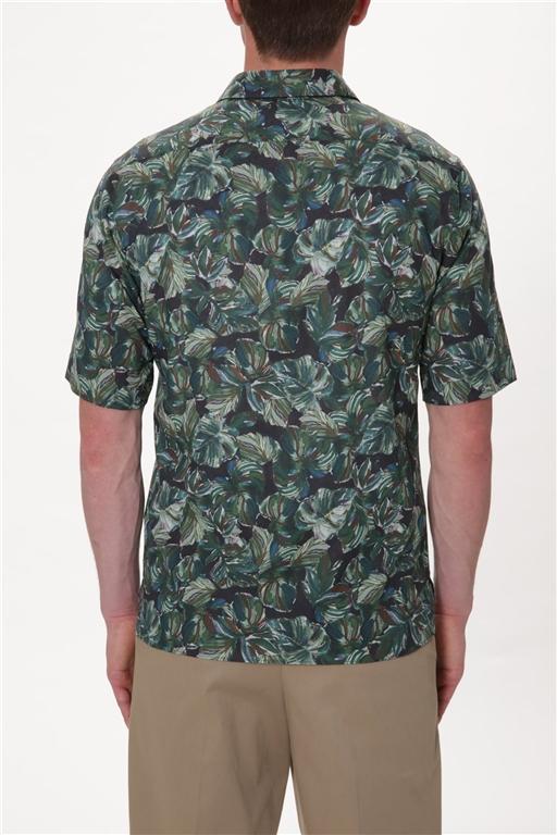 Paolo Pecora - Camicie - camicia con stampa floreale 1