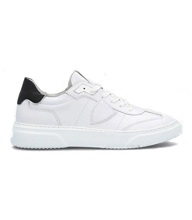 Philippe Model Paris - Scarpe - Sneakers - Temple S Veau - Blanc Noir