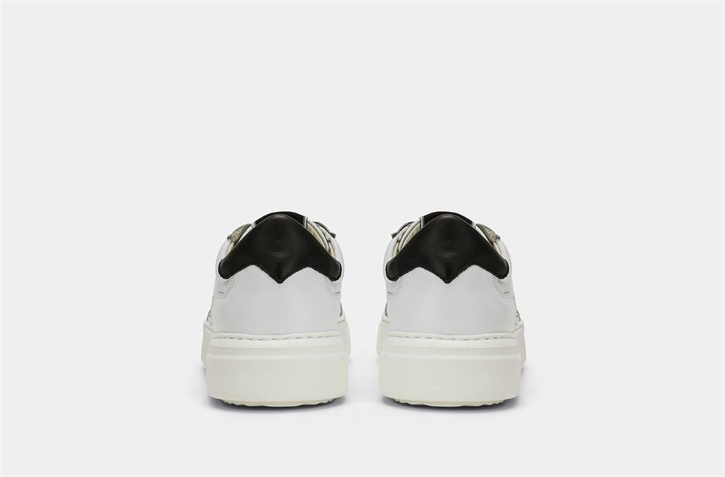 Philippe Model - Scarpe - Sneakers - temple s veau - blanc noir 1