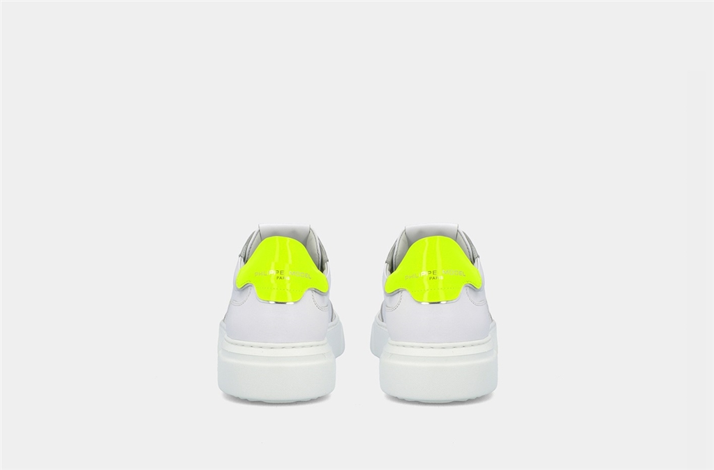 Philippe Model Paris - Scarpe - Sneakers - temple s veau neon - blanc jaune 4
