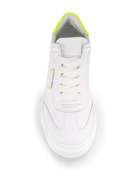 Philippe Model Paris - Scarpe - Sneakers - temple s veau neon - blanc jaune 1