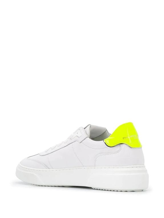 Philippe Model - Scarpe - Sneakers - temple s veau neon - blanc jaune 2