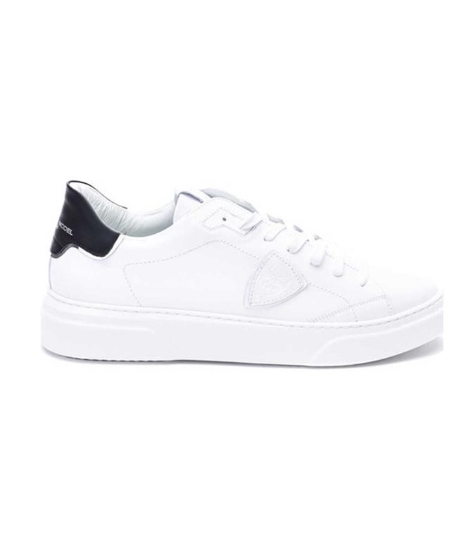 Philippe Model Paris - Scarpe - Sneakers - temple s homme l u - veau blanc noir