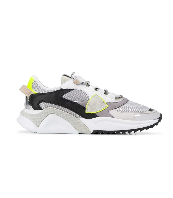 Philippe Model Paris - Scarpe - Sneakers - Eze Metal Fluo - Argent Jaune