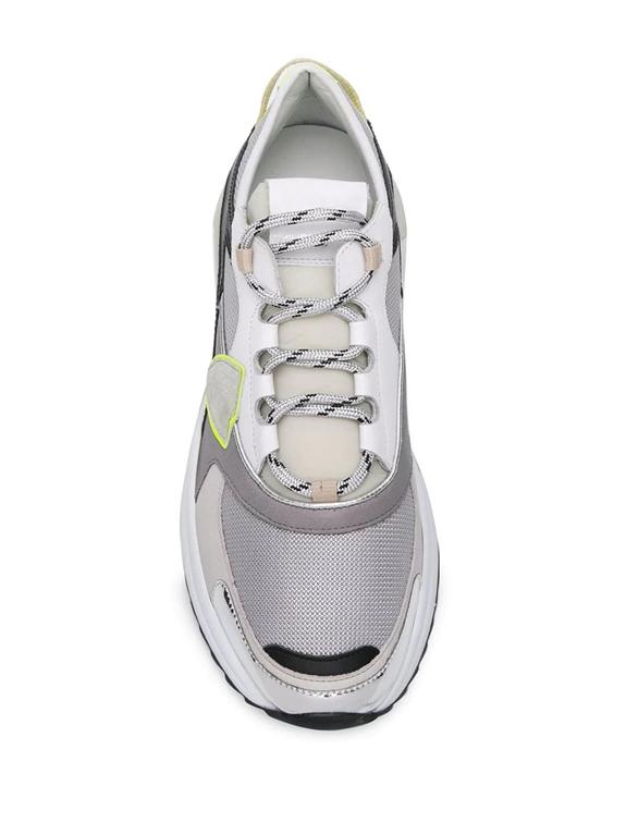 Philippe Model Paris - Scarpe - Sneakers - eze metal fluo - argent jaune 1
