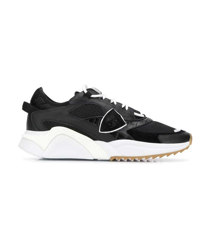 Philippe Model Paris - Scarpe - Sneakers - Eze Mondial Croco - Noir