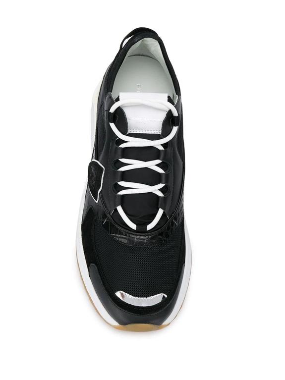 Philippe Model - Scarpe - Sneakers - eze mondial croco - noir 2