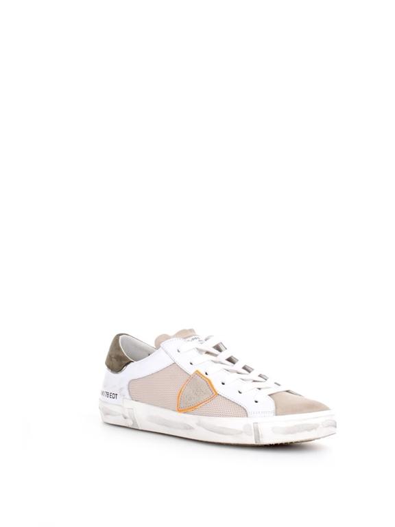 Philippe Model Paris - Scarpe - Sneakers - prsx reseau veau - blanc vert 1