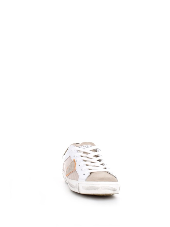 Philippe Model - Scarpe - Sneakers - prsx reseau veau - blanc vert 2