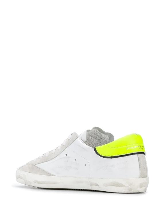 Philippe Model - Scarpe - Sneakers - prsx veau neon - blanc jaune 1