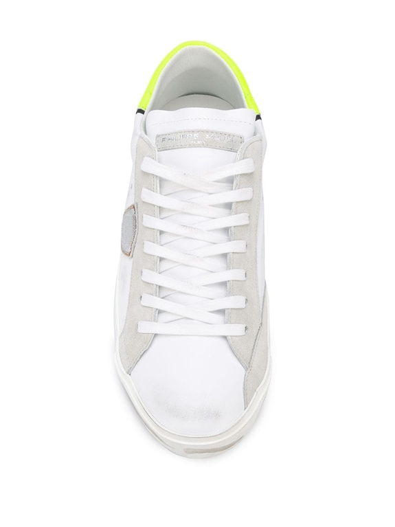 Philippe Model - Scarpe - Sneakers - prsx veau neon - blanc jaune 2