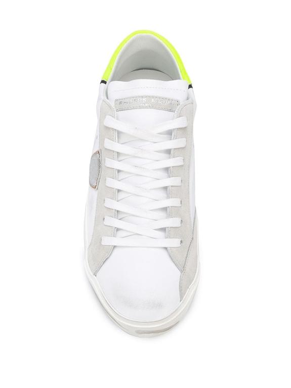 Philippe Model Paris - Scarpe - Sneakers - prsx veau neon - blanc jaune 2