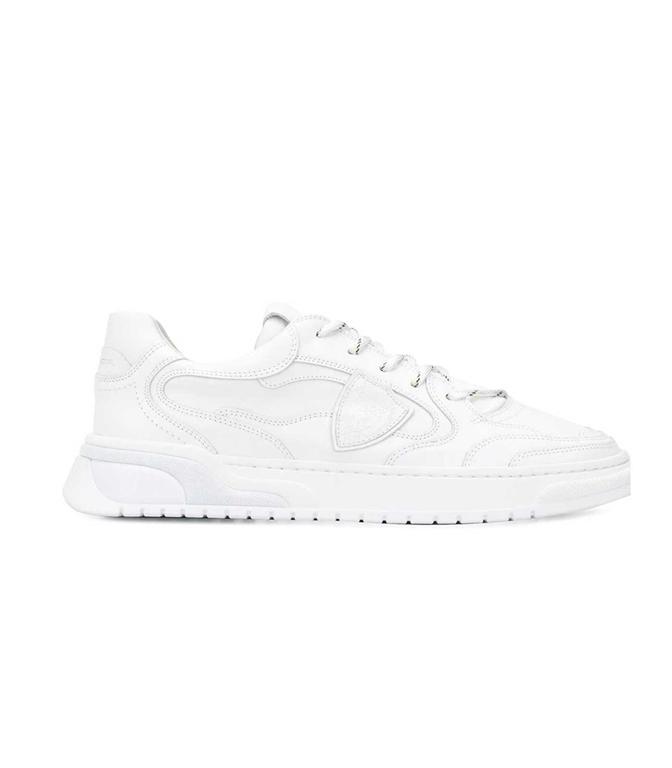 Philippe Model - Scarpe - Sneakers - saint denis veau - blanc