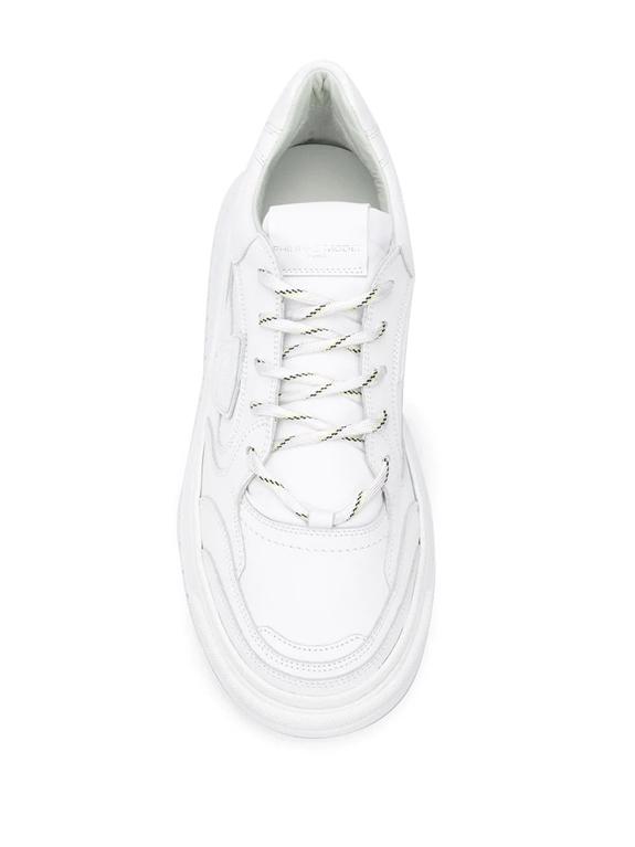 Philippe Model - Scarpe - Sneakers - saint denis veau - blanc 1