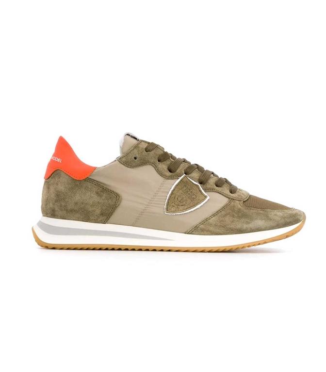 Philippe Model - Scarpe - Sneakers - Trpx Mondial - Militaire Orange