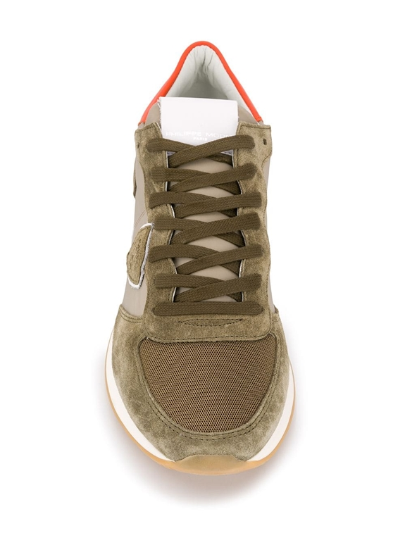 Philippe Model - Scarpe - Sneakers - trpx mondial - militaire orange 1