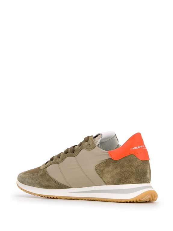 Philippe Model - Scarpe - Sneakers - trpx mondial - militaire orange 2